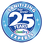 Sanitizing for over 25 years icon
