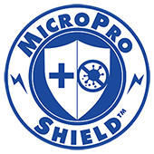 MicroPro Shield Badge